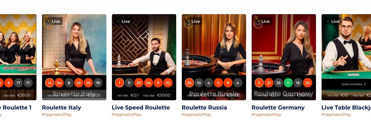 21Nova Live Casino