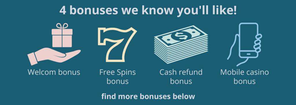 4 bonuses we know you'll like