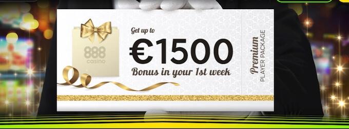 888 casino Canada bonus