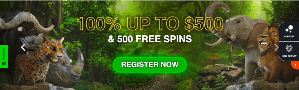 Big5 Casino promotions.