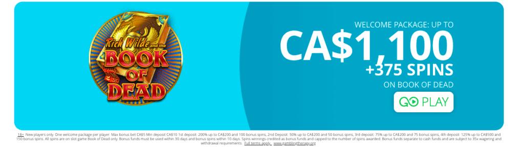 CasiGo Casino promotion