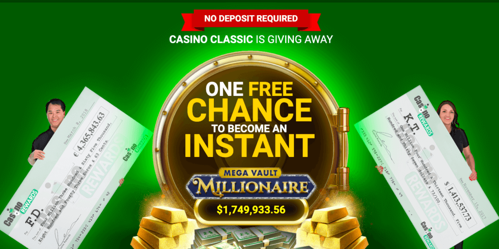 Casino Classic welcome offer