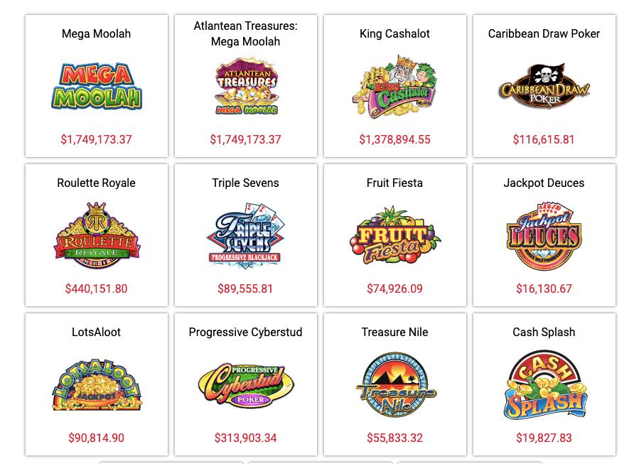 Casino Classic Jackpots