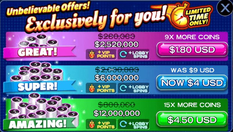 High 5 Casino offer