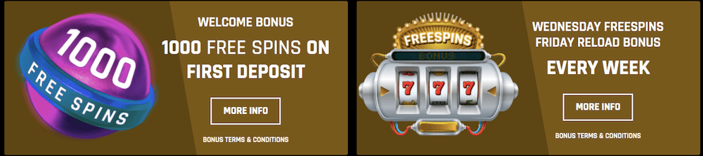 casino universe bonus and free spins