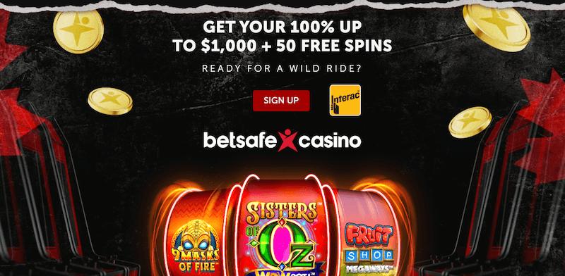 Betsafe Welcome Offer + 50 free spins