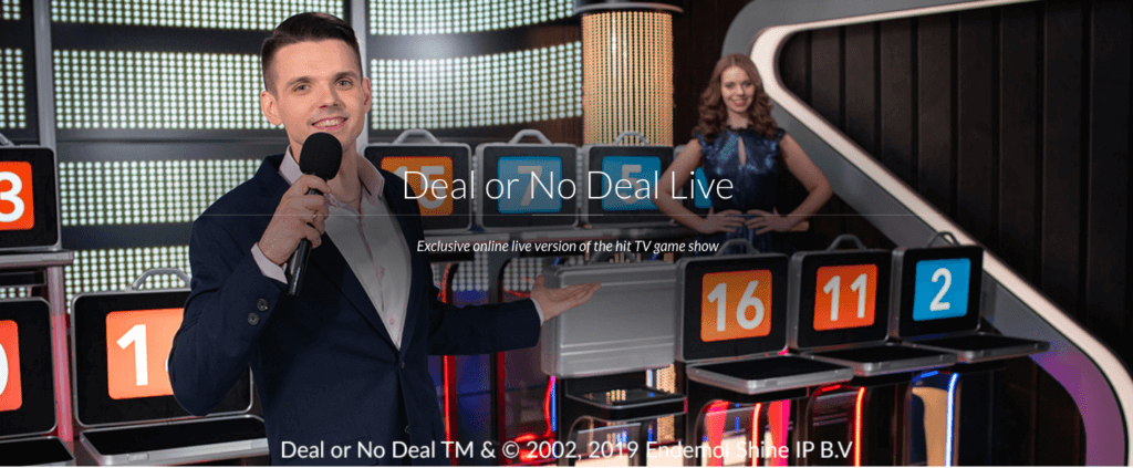 Play Live Deal or No Deal