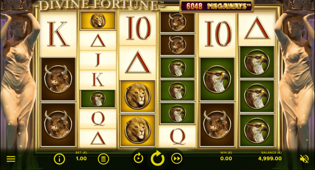 Divine Fortune Megaways slot review