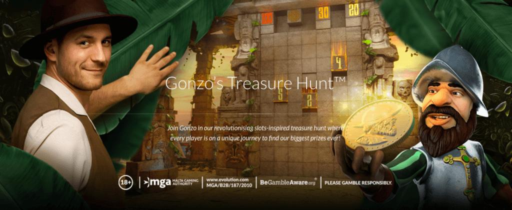 Evolution's Gonzo's Treasure Hunt