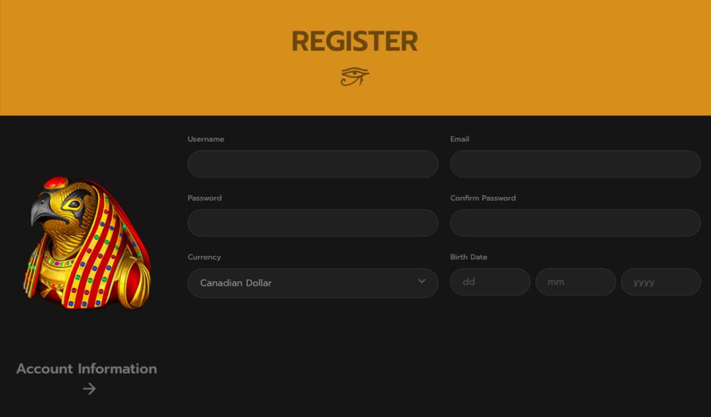 Horus Registration