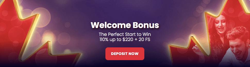 Jack21 Canada Bonus