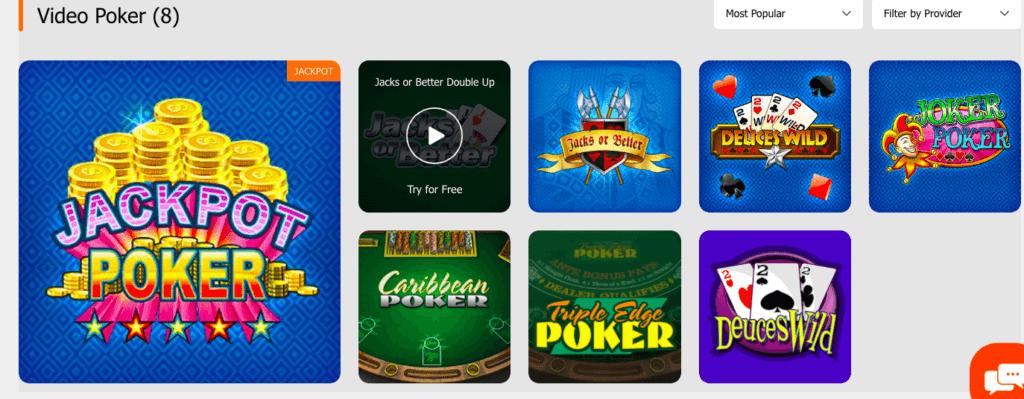 Luckia table games