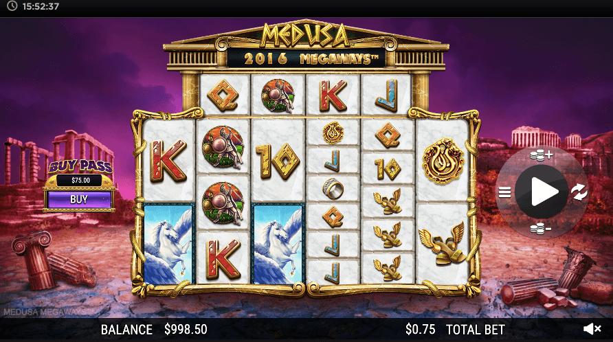 Medusa Megaways review CA