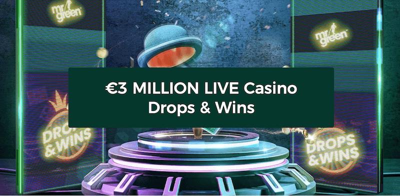 Mr Green - 3 million in prizes
