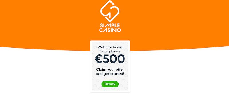Simple Casino - Welcome bonus