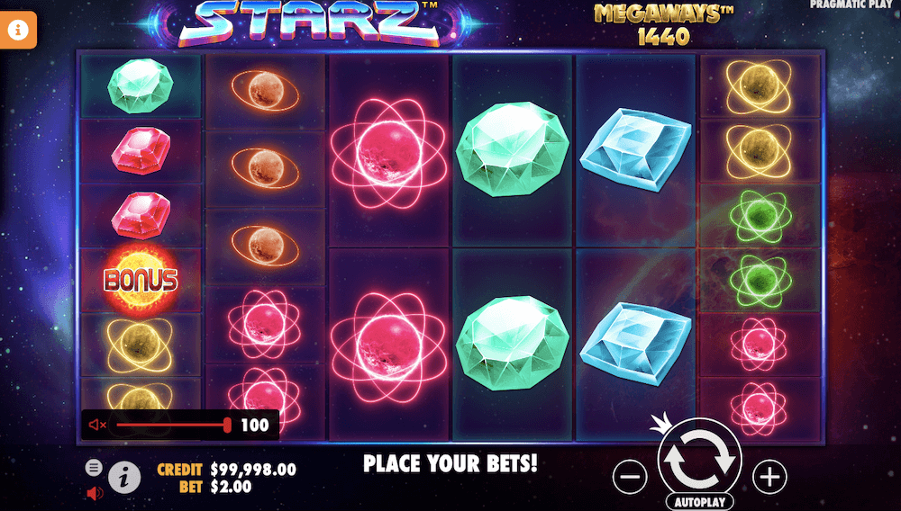 Pragmatic Play Starz Megaways
