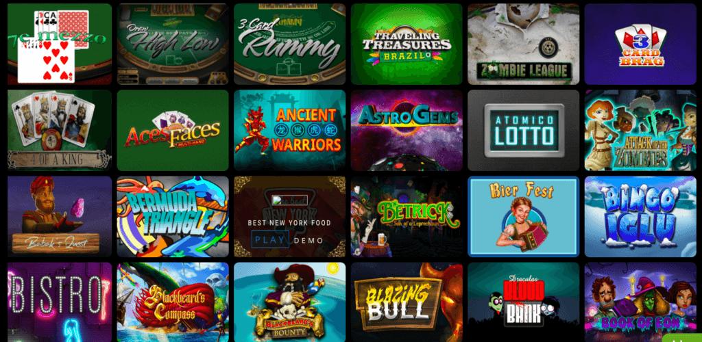 Wild Pharao Casino games