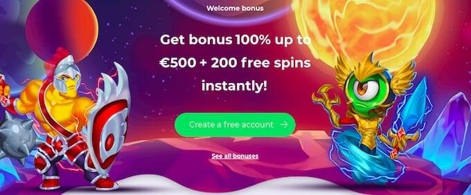 Alfcasino bonus
