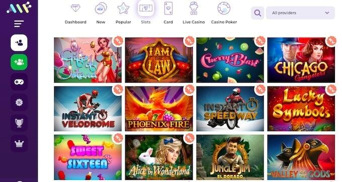 Alfcasino games online