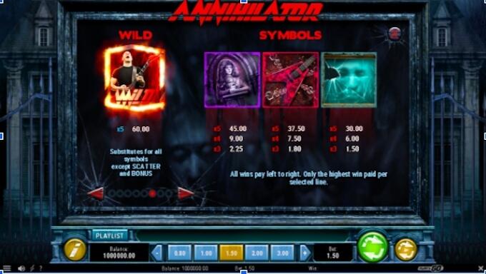 Annihilator slot play n go