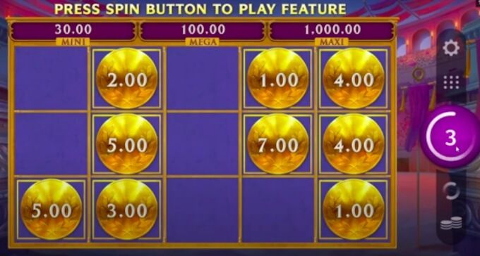 Arena of Gold slot Golden Respins