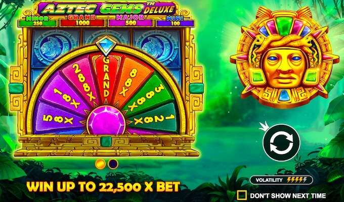 Aztec Gems Deluxe slot review
