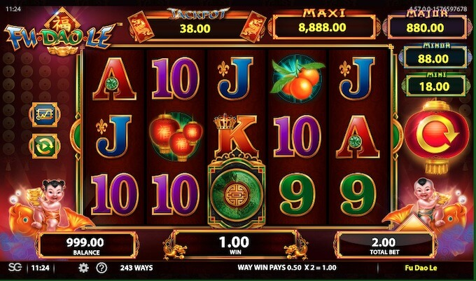 Bally Tehnologies casino games
