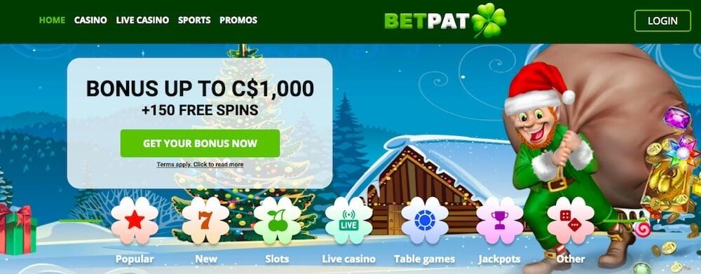 betpat casino bonus