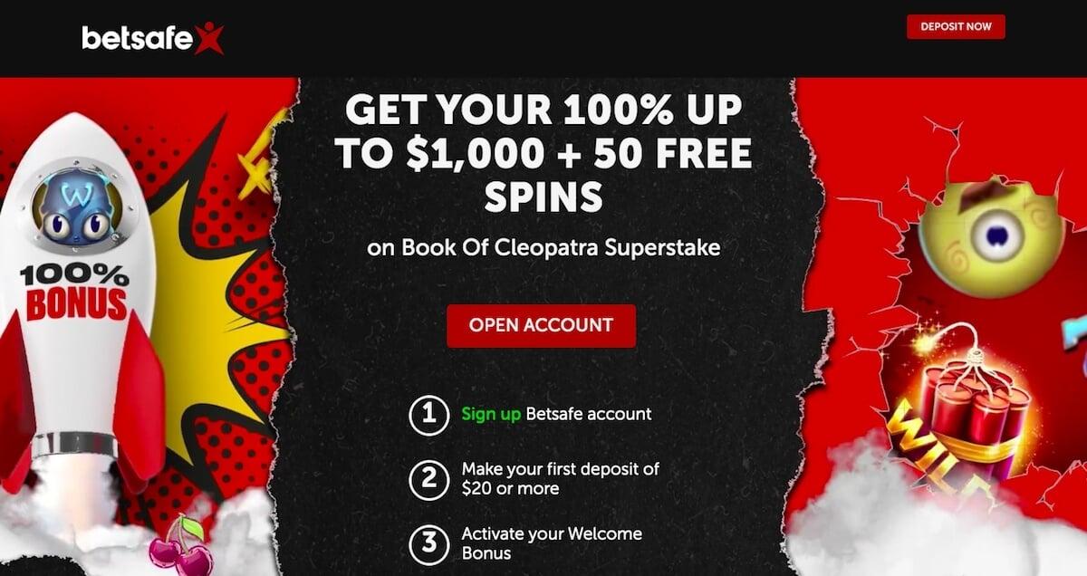 betsafe casino canada bonus