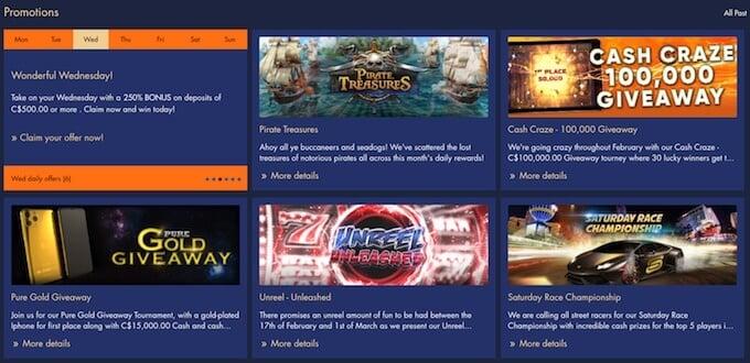 Bondibet casino promotions