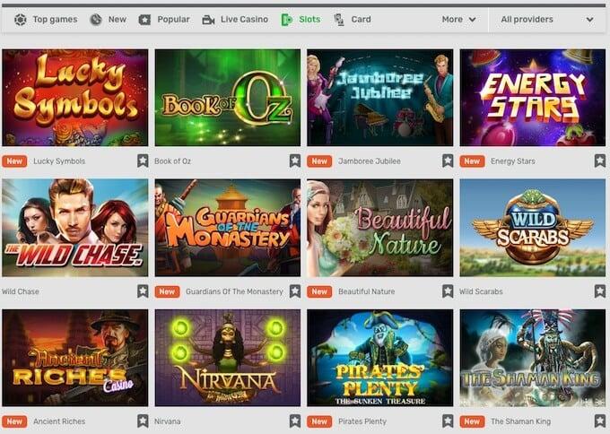 Campobet online casino games