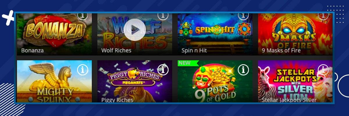 Regent Casino games