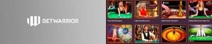 BetWarrior Live Casino