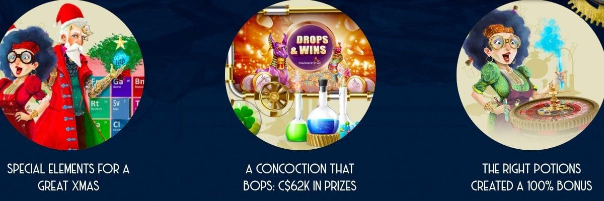 Casino Lab promotions