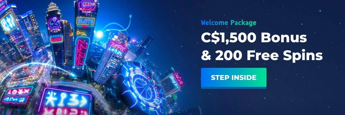Casino Planet Welcome Bonus