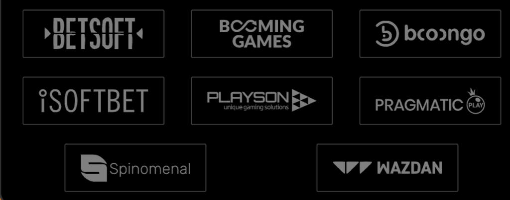 Casinointense game providers