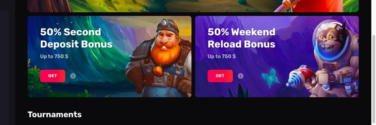 Casinomia promotions