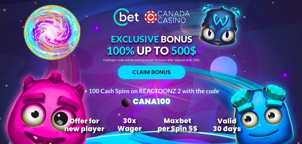cbet canada bonus