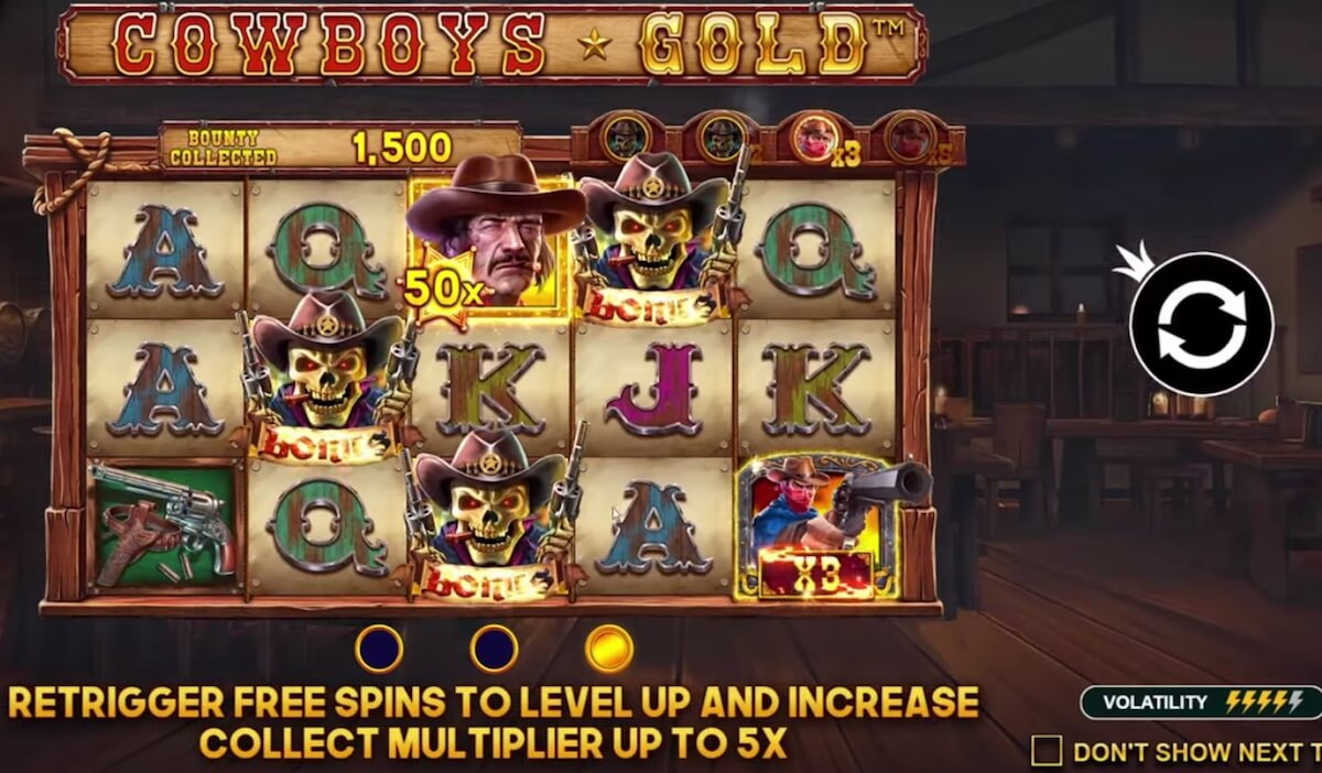 Cowboys Gold Slot review