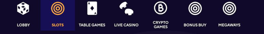 dazard casino game filter