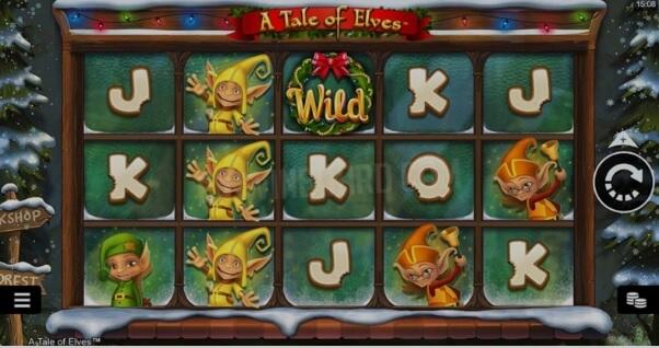 A Tale of Elves Slot Symbols