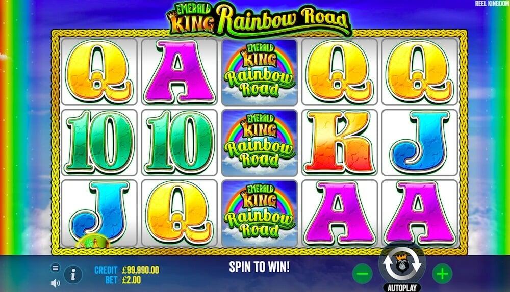 Emerald King Rainbow Road Pragmatic Play