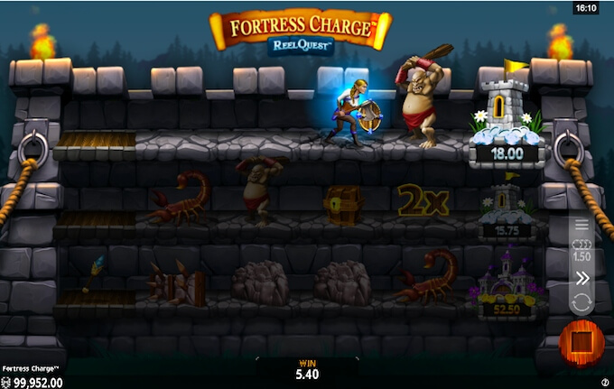 Fortress charge slot review