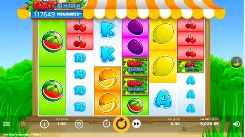 Fruit Shop Megaways Slot netEnt