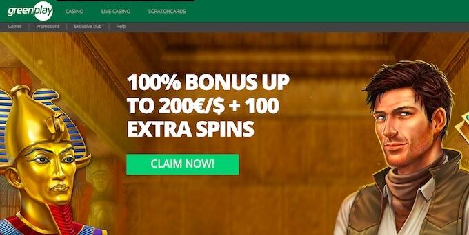 Greenplay Casino Welcome Bonus