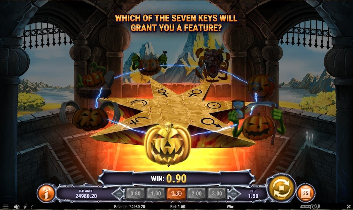 helloween slot free spins