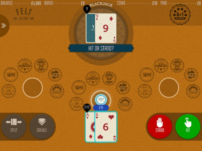 How to play Blackjack online
