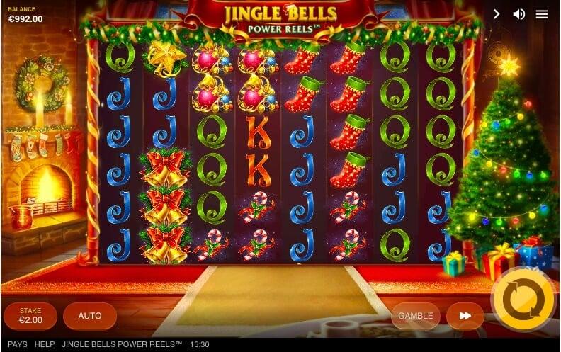 Spin Jingle Bells Power Reels