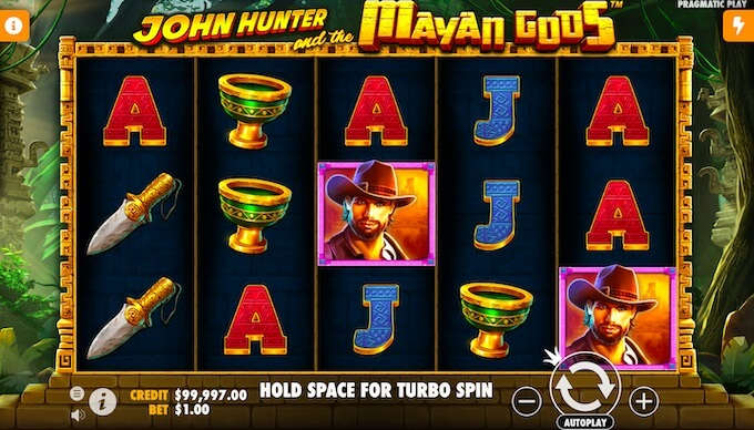 John Hunter and the Mayan Gods slot review