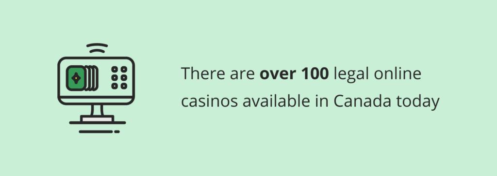 Legal online casinos canada